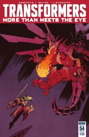 Transformers News: IDW Transformers: More Than Meets The Eye #54 Review