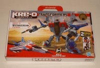 Transformers News: In Package Images of Kre-O Starscream and Megatron