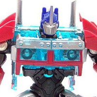 Transformers News: First In Hand Images of Transformers Prime Cyberverse Optimus Prime
