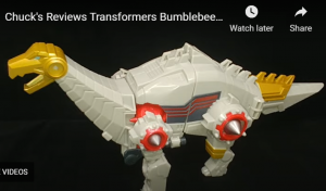 Video Review of Transformers Cyberverse Ultra Class Sludge