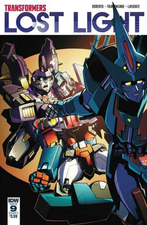 Variant Covers For IDW Transformers: Lost Light #9