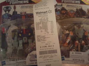 Transformers News: Transformers Generations Rattrap And Tankor Sighted at US Retail