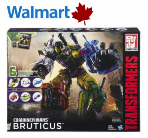 Transformers News: Transformers Combiner Wars G2 Bruticus Collection Pack At Wal-Mart.ca