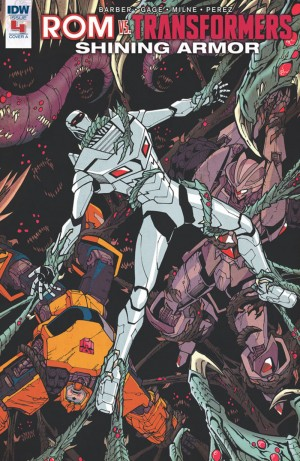 iTunes Preview for IDW Rom Vs. Transformers: Shining Armor #4
