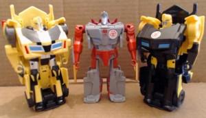 Video Review - Transformers Adventure / Robots in Disguise Bumblebee, Ninja Sideswipe