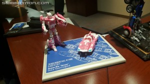 Transformers News: #HASCON 2017 Transformers Hall of Fame Susan Blu Induction Ceremony