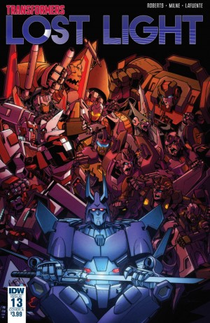 IDW Transformers: Lost Light #13 Full Preview