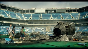 Transformers News: The Pontiac Silverdome in Transformers: The Last Knight Trailer