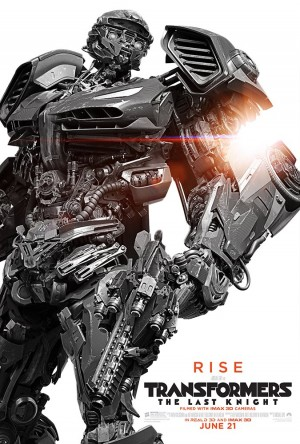 New Hot Rod and Edmund Burton Posters for Transformers: The Last Knight