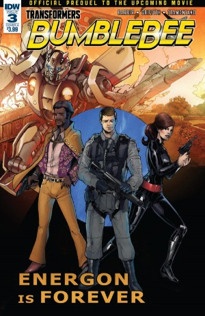 Transformers News: Full Preview for IDW Bumblebee: From Cybertron with Love #3