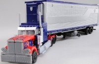 Transformers News: More Images of Takara Transformers DOTM Voyager Class Optimus Prime + Trailer