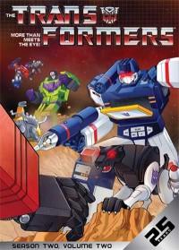 Transformers News: Shout! Factory Season 2 Volume 2 DVD Art