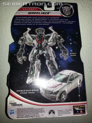 Transformers News: Additional Movie Trilogy Series Wheeljack Pictures Include Bio