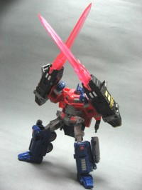 "Transformers News: Perfect Effect PE-03 Laser / PE-04 Buzzer Pictures Including Henkei Megatron ""Perch"" mode"