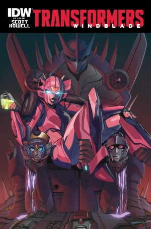 IDW Publishing September 2015 Transformers Comics Solicitations: RID, Elita One, Scavengers and More