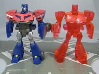 Transformers News: Toy Images of Toy R Us Japan - Animated  Exclusive Clear Red Optimus Prime