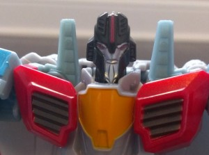 Transformers News: A Ton of New Images of Robots in Disguise Exclusive Starscream Warrior Figure with Review and Comparisons