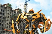 Transformers News: Transformers Replicas Appear in China at Site of Possible Transformers Theme Park