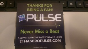 Hasbro Pulse Welcome Packages Arriving Now