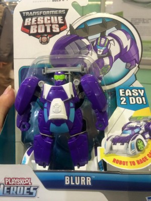 Transformers: Rescue Bots Rescan Blurr and Optimus Prime Sighted in Hong Kong