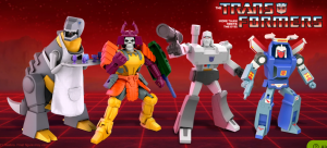 Super7 Transformers Ultimates Bludgeon, Grimlock, Megatron, and Tracks revealed and preorders open