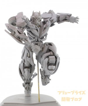 Transformers News: New Prototype Images of Furyu Transformers Lost Age Bumblebee
