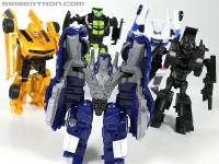 New Toy Galleries: Dark Of The Moon Cyberverse Crankcase, Topspin, Bumblebee, Barricade and Skids