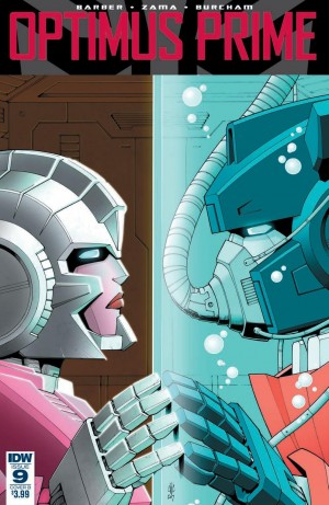 Transformers News: Review of IDW Optimus Prime #9 #Transformers