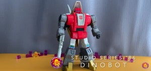 New Video Review of Transformers Studio Series 86 Leader Class Slag