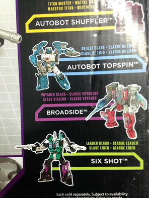 Transformers News: Transformers Titans Return Topspin Revealed