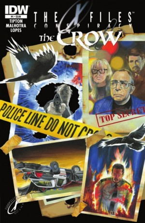 Transformers News: IDW The X-Files: Conspiracy - The Crow Preview