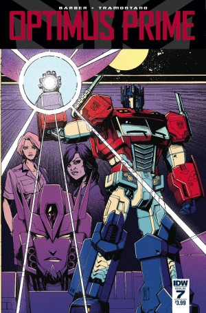 Variant Covers for IDW Optimus Prime #7 by Kei Zama / Josh Burcham, Andrew Griffith