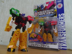 Toy'R'Us Japan Exclusive Giraffe Prime In-Hand Images