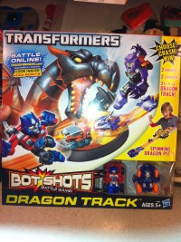 Transformers News: Transformers Bot Shots Dragon Track Set Sighted at Retail