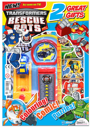 New Transformers: Rescue Bots Magazine Launching in UK