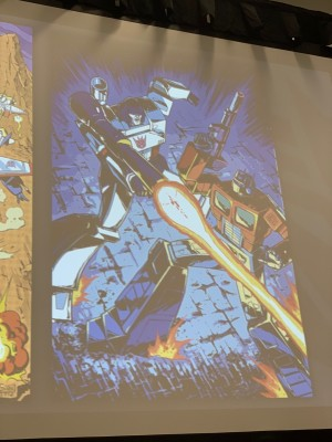 Images and Video from IDW Transformer Panel at Wondercon with New Images of Transformers 84 Comic