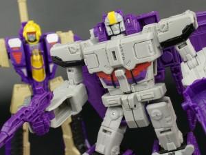Transformers News: New Galleries: Titans Return Voyager Astrotrain with Darkmoon