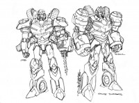 Transformers: MTMTE Concept Art from Alex Milne