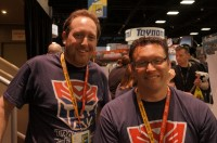 Transformers News: SDCC 2012 Coverage: Interview with Hasbro's Aaron Archer and Jerry Jivoin