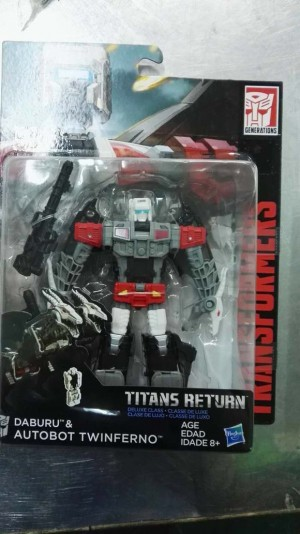 Transformers News: New Images for Wave 3 Transformers Titans Return Deluxes Twinferno, Breakaway, Triggerhappy, and Hot Rod