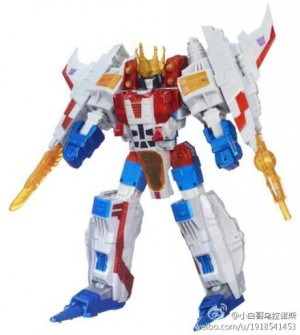 Transformers News: Official Images: Transformers Platinum Edition Year of the Horse Optimus Prime and Starscream