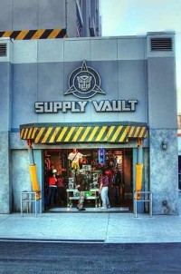 Transformers News: Transformers: The Ride 3D Supply Vault Now Open at Universal Orlando