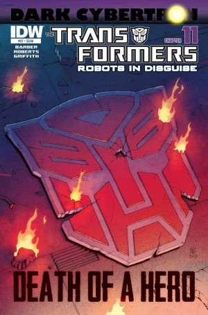 Transformers News: Sneak Peek - Transformers: Robots in Disguise #27 (Dark Cybertron 11)