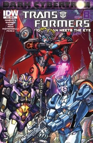 Transformers News: IDW Transformers: More Than Meets the Eye #26 (DC 8) Review