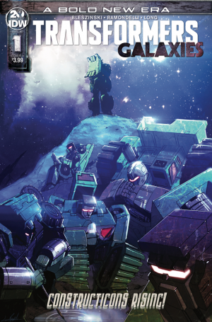 Transformers News: IDW Transformers: Galaxies #1 Review
