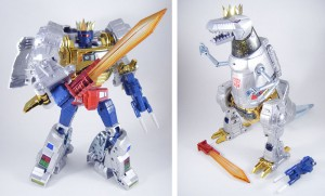 Takara Masterpiece MP-8X King Grimlock with Throne Video Review