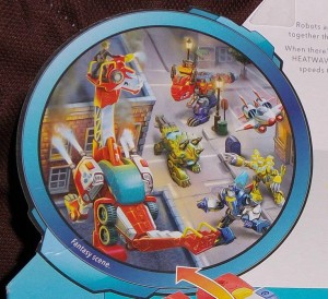 Transformers News: Transformers: Rescue Bots Rescan Heatwave Cardback Reveals Possible Dinosaur Characters
