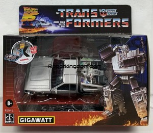 ROBOTKINGDOM.COM Newsletter featuring Transformers Collaborative Back to the Future and Top Gun!