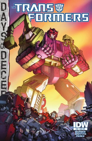 Transformers News: IDW Publishing Transformers #38: Days of Deception Review