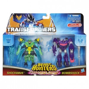Transformers News: Target.com Lists Predacons Rising 2-pack Shockwave and Bombshock Including In-package Image